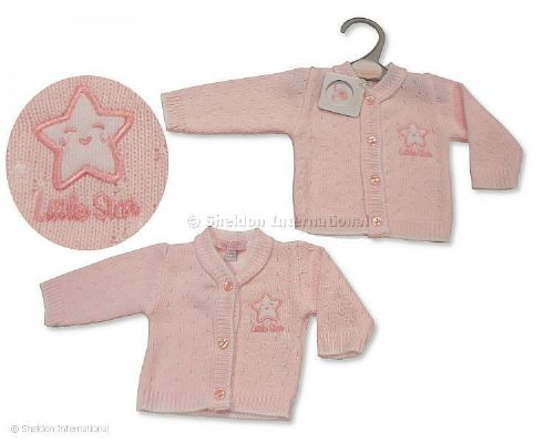 Little Star Pink Cardigan